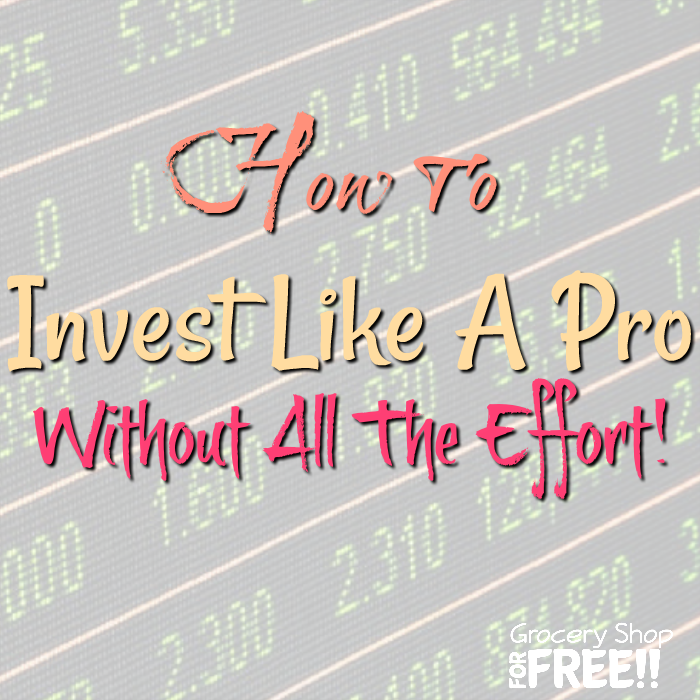 Thinking of investing? Here are some tips on investing like a pro — minus the effort.