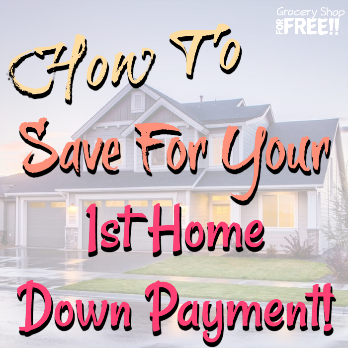 How To Save For A House Downpayment!