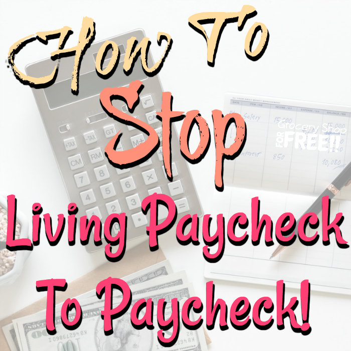 Are you ready to stop living paycheck to paycheck? These tips can help you with your budget, to get out of debt, & learn how not to live paycheck to paycheck.