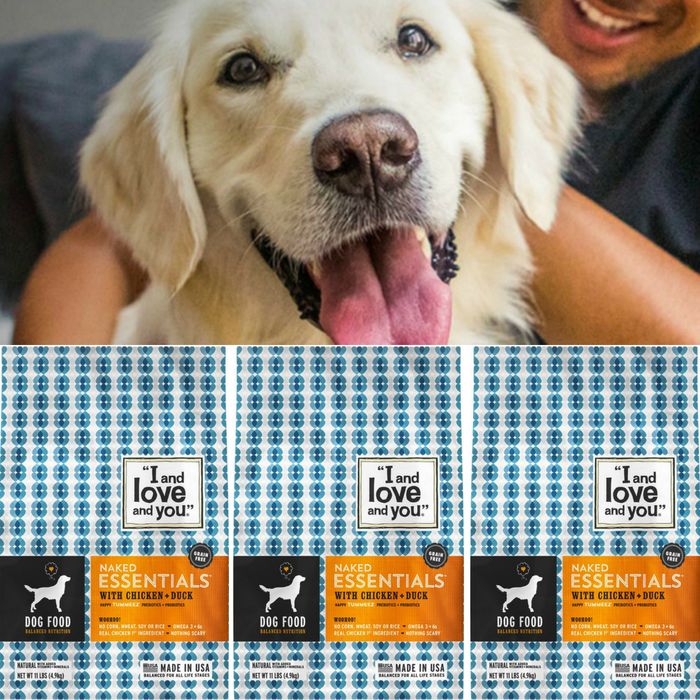 FREE Naked Essentials Dog Food Sample!