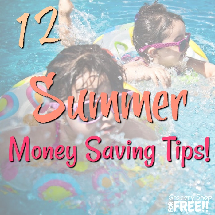 12 Summer Money Saving Tips