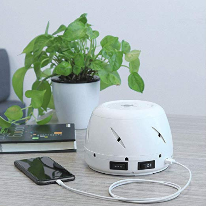 Sleep Faster And Better With The AuCuTee Fan White Noise Machine!