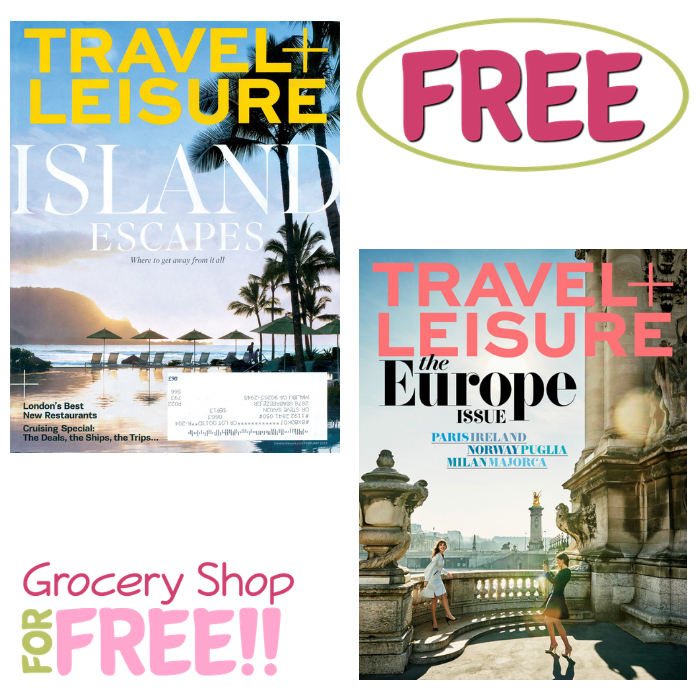 FREE Travel & Leisure Magazine Subscription!