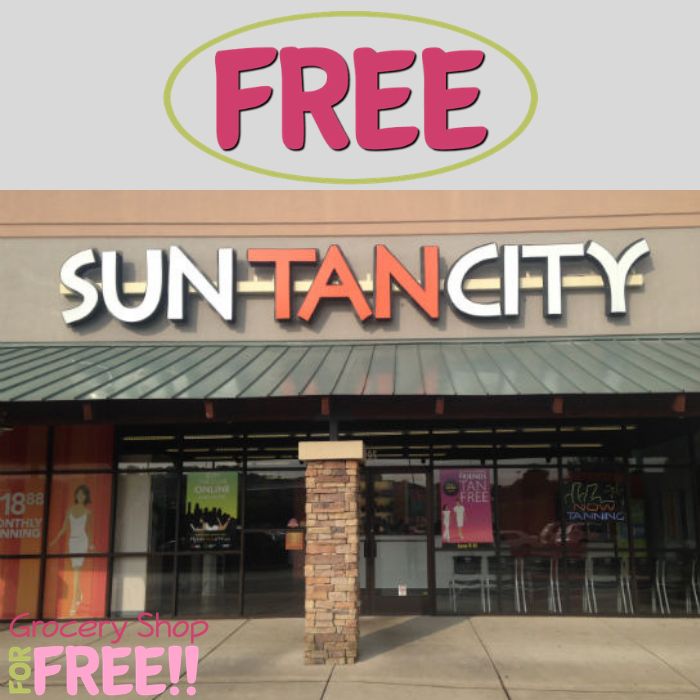 FREE Spray Tan At Sun Tan City!