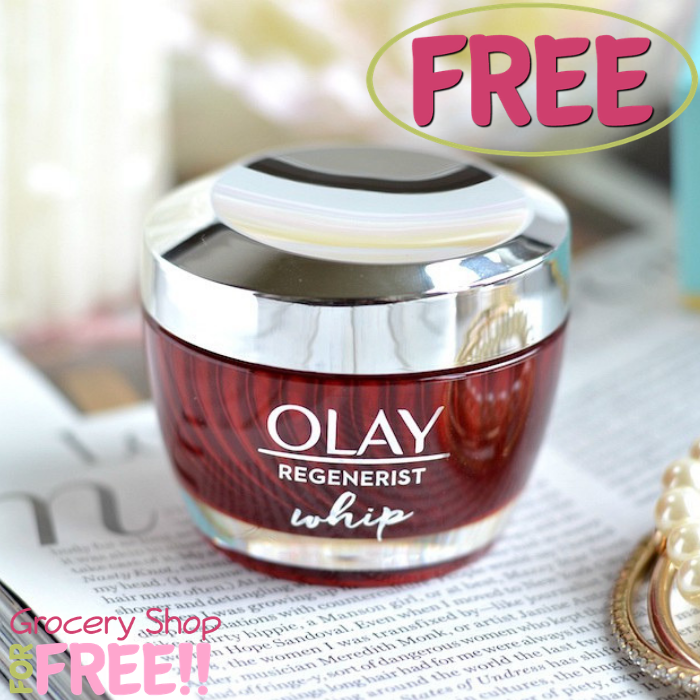 FREE Olay Regenerist Whip Sample!
