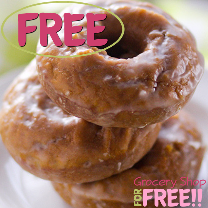 FREE Pumpkin Spice Cake Doughnut At Krispy Kreme!