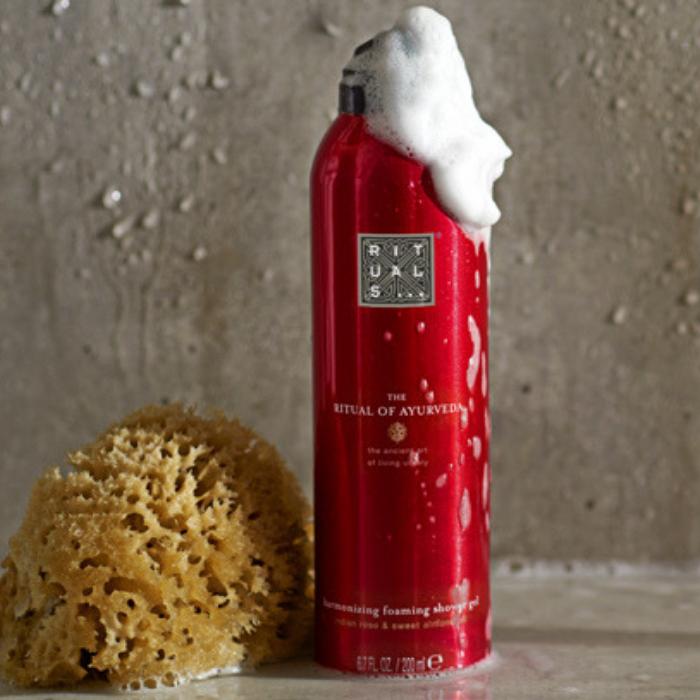 FREE Rituals Foaming Shower Gel Sample!