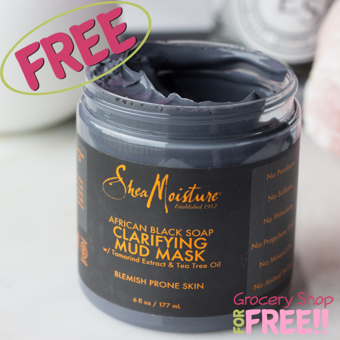 FREE SheaMoisture Mud Facial Mask Sample!