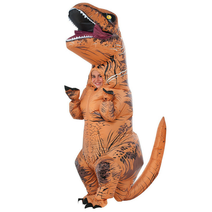 Child Inflatable T-Rex Dinosaur Costume