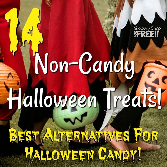 14 Non-Candy Halloween Treats! Best Alternatives For Halloween Candy!