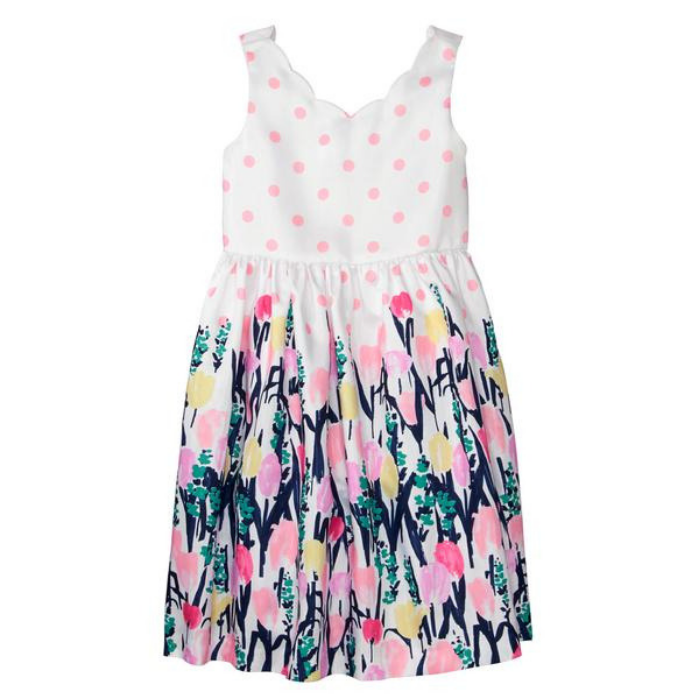 Floral Dot Dress