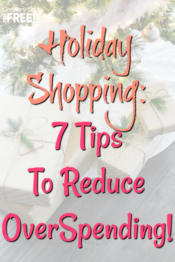 Every year do you say you're going to do better at budgeting for the holidays?  Well these 7 tips to help reduce overspending during the holidays will be very helpful!