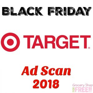 Target Black Friday Ad Scan 2018!