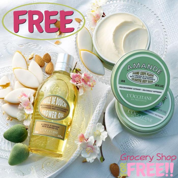 FREE L'Occitane 3-Piece Gift Set!