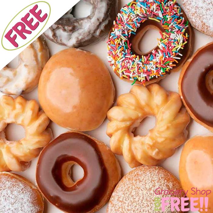 FREE Any Krispy Kreme Doughnut!