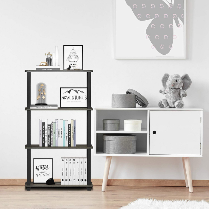 Furinno 4-Tier Shelf