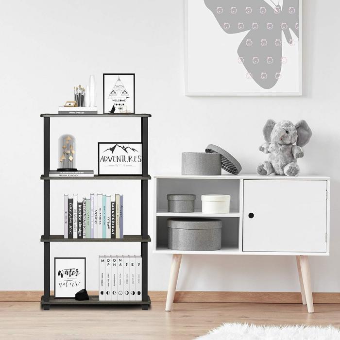 Furinno 4-Tier Shelf