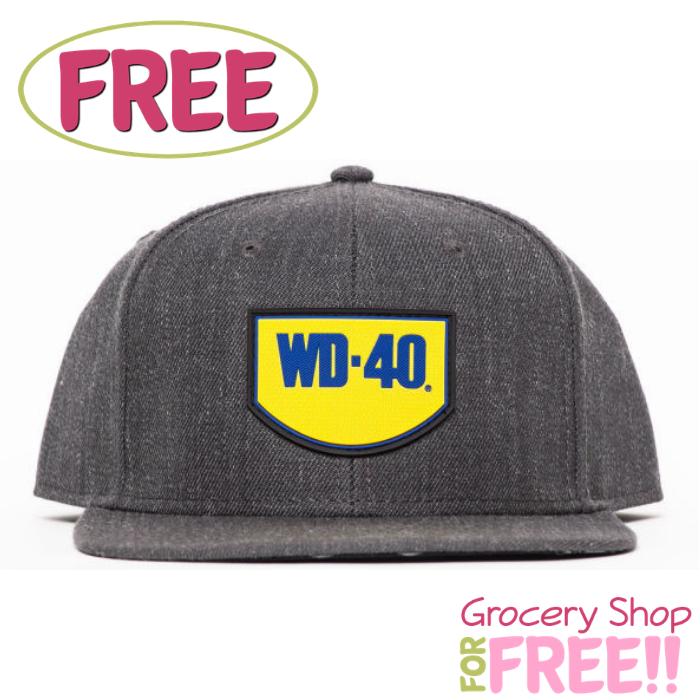 FREE WD-40 Brand Hat!