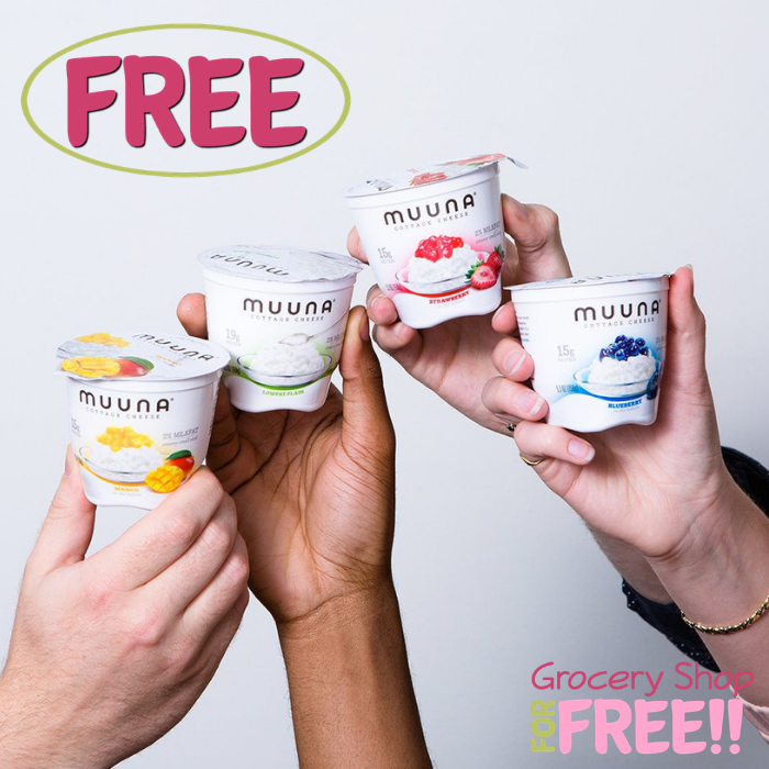 FREE Muuna Cottage Cheese At Giant Eagle!