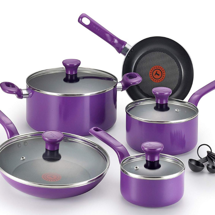 T-Fal 14-Piece Cookware Set