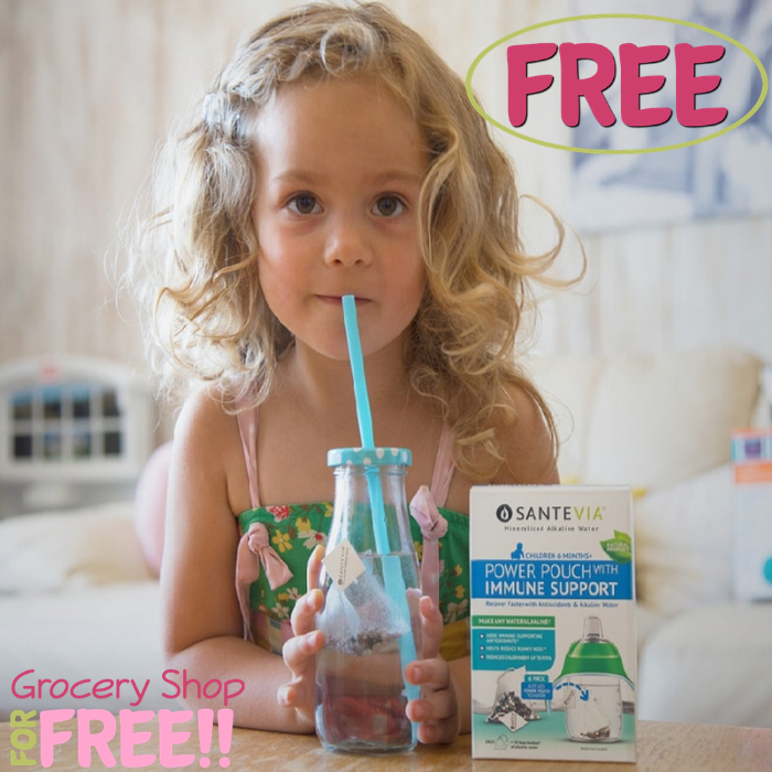 FREE Santevia Immune Support Power Pouch Sample!