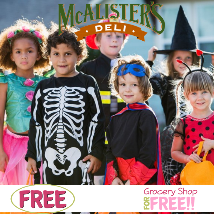 FREE Kid's Meal With Purchase At McAlister's Deli!