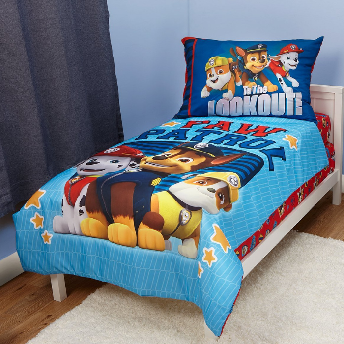Paw Patrol Bed Set