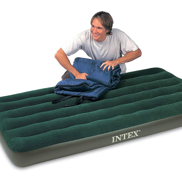 Intex Airbed With Battery Pump