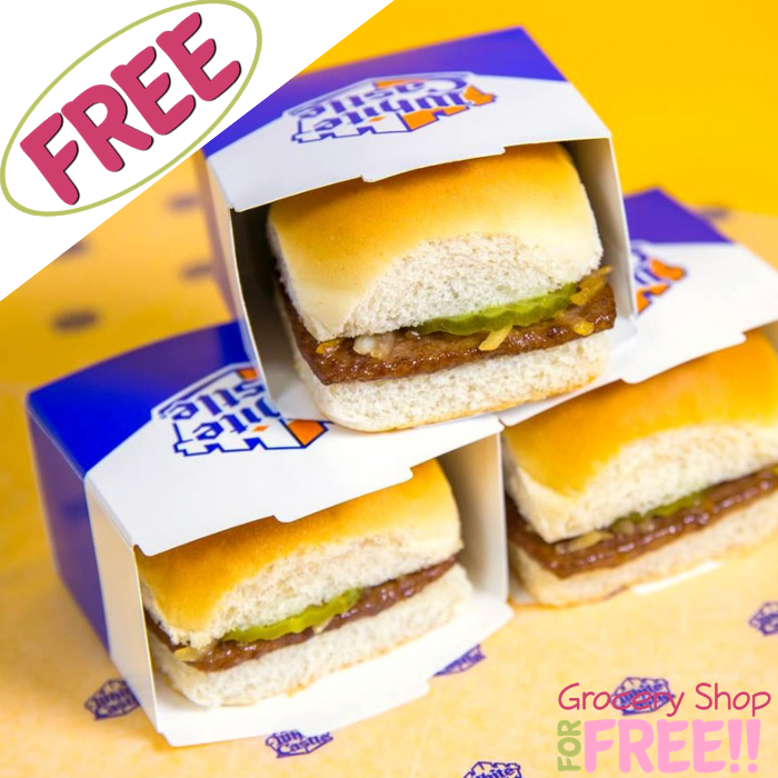 FREE Breakfast Slider With Any Purchase At White Castle!