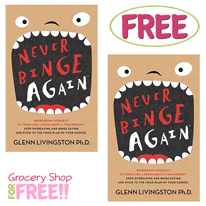 FREE Never Binge Again Kindle eBook!