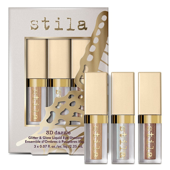 Stila 3D Dazzle Mini Glitter & Glow Liquid Shadow Set