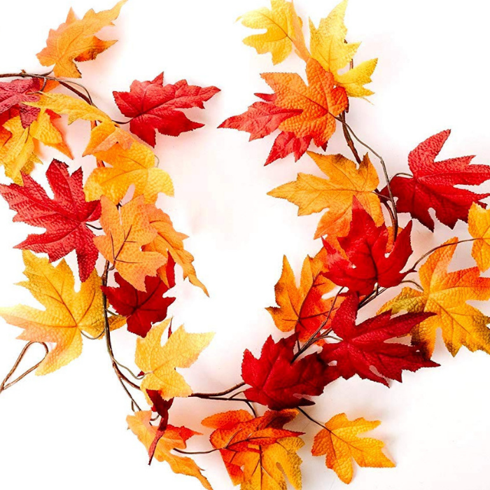 Fall Maple Leaf Garland