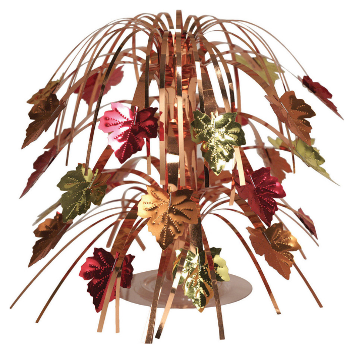 Leaves Cascading Centerpiece