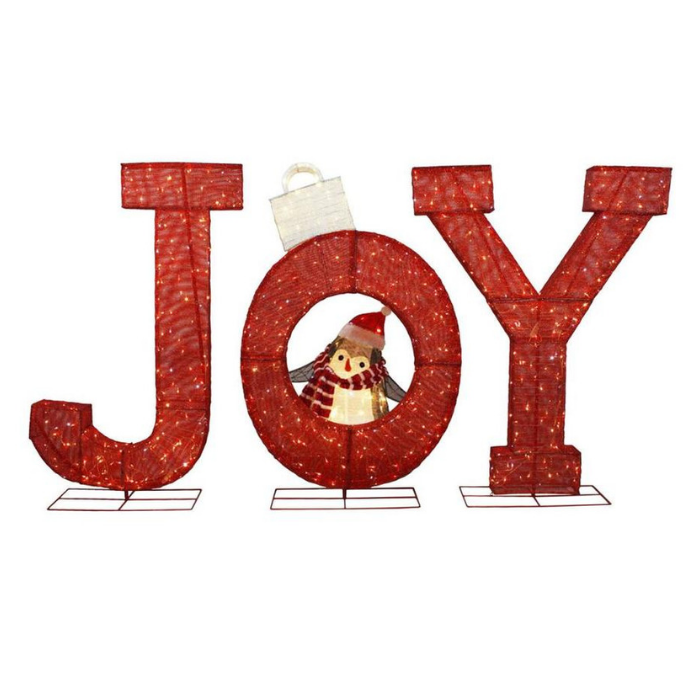 72-inches Joy Sign