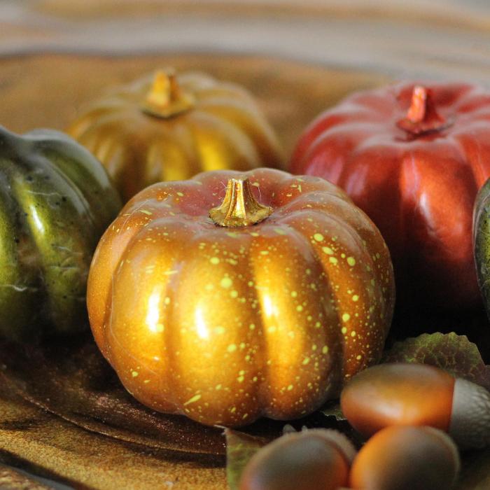 Autumn Harvest Thanksgiving Decoration Set