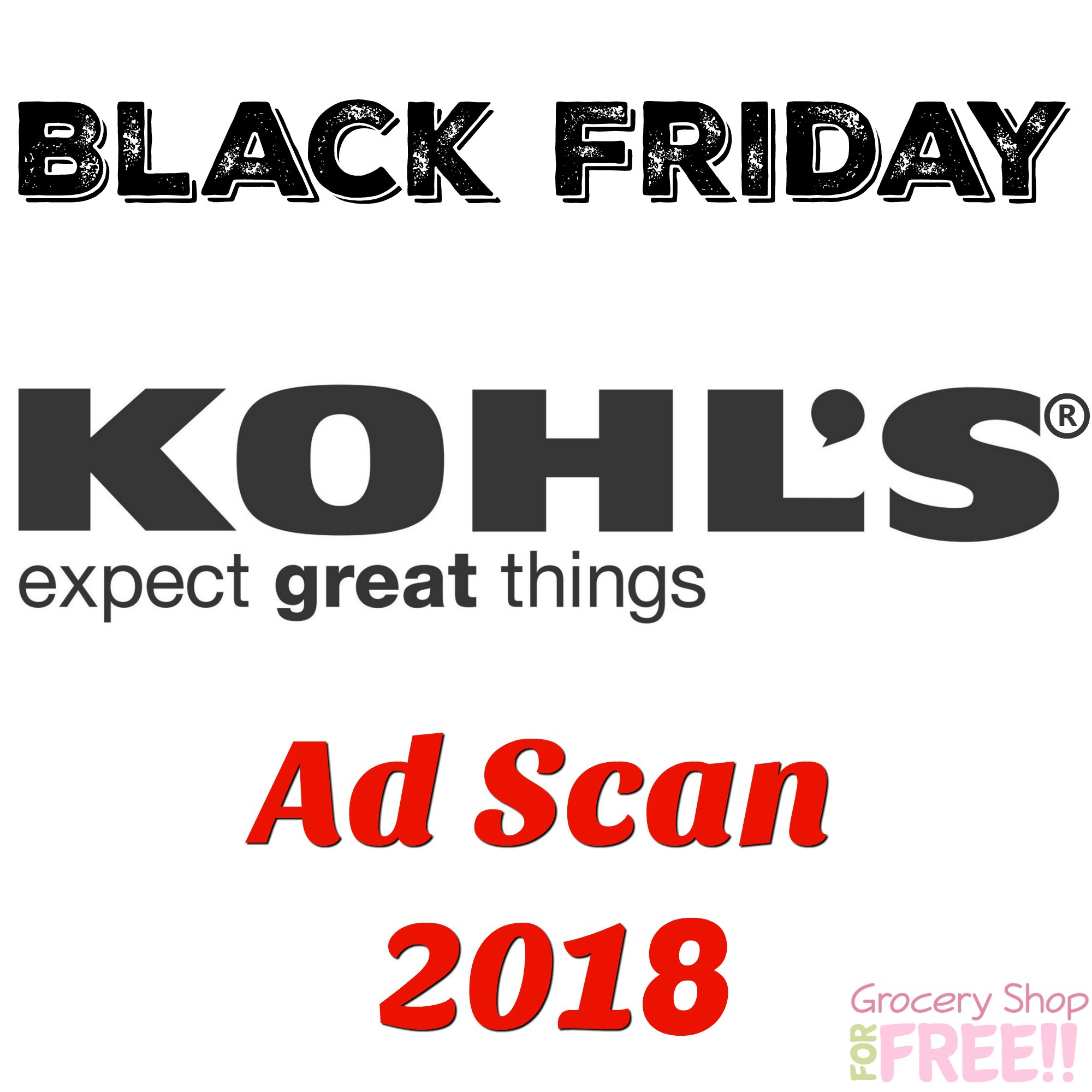 Kohl's Black Friday Ad Scan