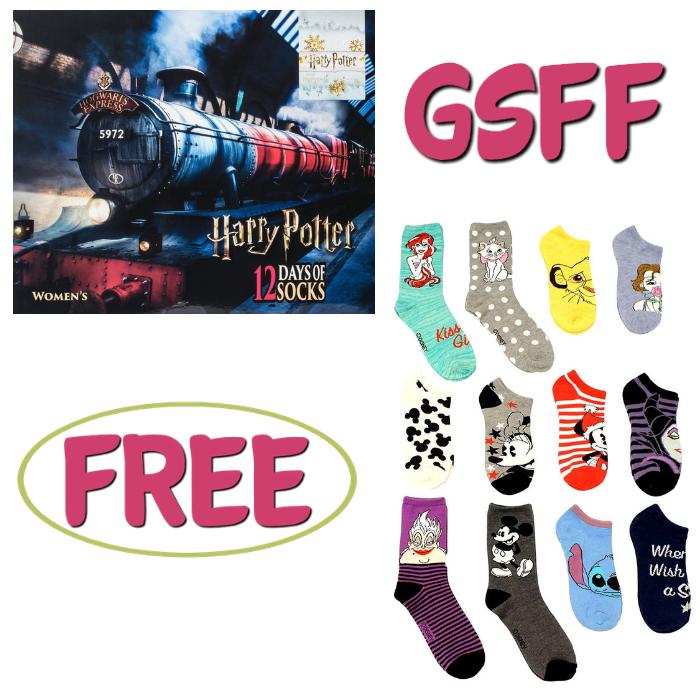 FREE 12 Days Of Socks Advent Calendar!