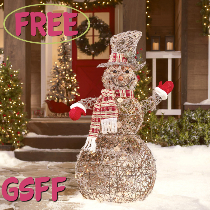 FREE $10 To Spend On Holiday Decors At Lowe's!