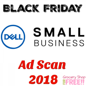 Dell Small Business Black Friday Ad Scan 2018!