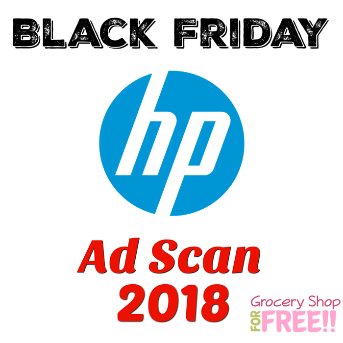 HP Black Friday 2018 Ad Scan!