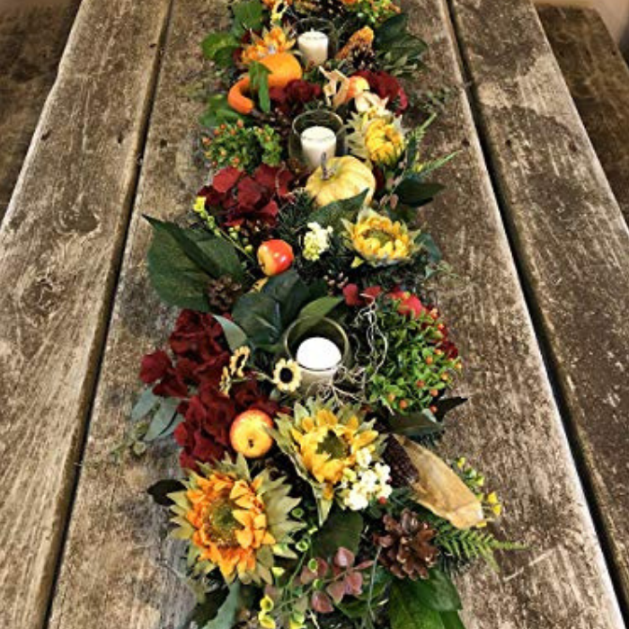 Fall Arrangement Centerpiece