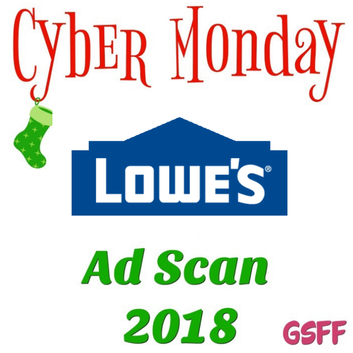 Lowe's Cyber Monday Deals 2018!