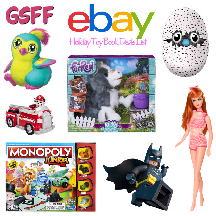 eBay Toy Book Deals List Is Ready!