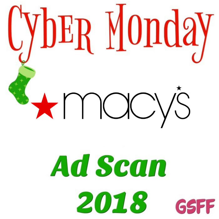 Macy's Cyber Monday Deals 2018!