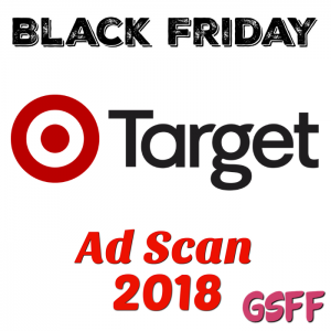 Target Pre-Black Friday 2018 List Is Ready!