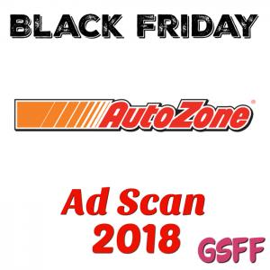 Autozone Black Friday 2018 Ad Scan!