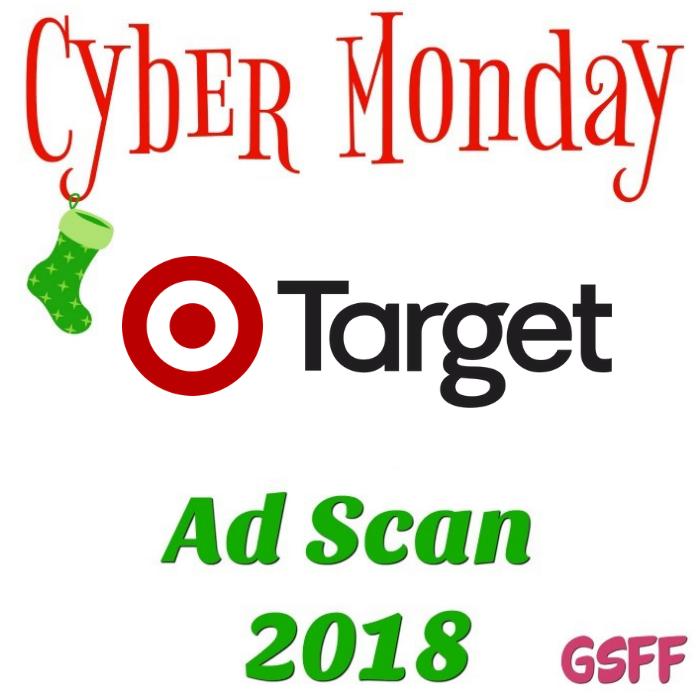 Target Cyber Monday Deals 2018!