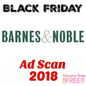 Barnes & Noble Black Friday 2018 Ad Scan!