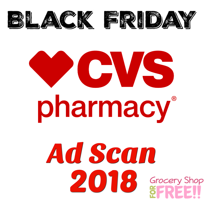 CVS Pharmacy Black Friday Ad Scan 2018!