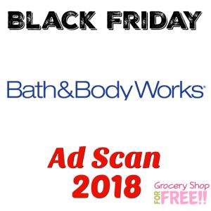 Bath & Body Works Black Friday 2018 Ad Scan!